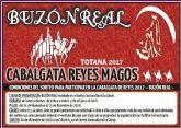 Los interesados en participar en la Cabalgata de Reyes�2017 pueden participar en el sorteo hasta el 15 de diciembre