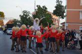 El desfile de carrozas despide mañana las fiestas patronales de San Javier