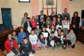 Miércoles habitual visita de alumnos al Ayuntamiento, atendidos por el Alcalde