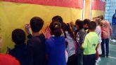 Los escolares visitan el Ayuntamiento con motivo del trigésimo noveno aniversario de la Constitución
