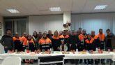 Reconocimiento a la labor de Protecci�n Civil de Alhama en el d�a de su patr�n