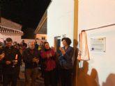 Inaugurada la plaza de la Ermita de La Estación-Esparragal