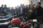 Emiliano Escudero muestra su colección de motos clásicas en una exposición permanente en San Pedro del Pinatar