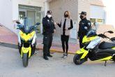 El Ayuntamiento de Archena incorpora dos nuevas motos a la flota de vehículos de la Policía Local