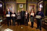Entrega de diplomas a los participantes de la II ruta de los Belenes