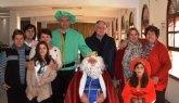 El Rey Melchor visitó Cáritas Tres Avemarías