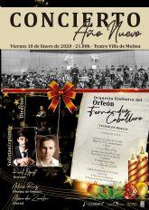 La Orquesta Sinfónica del Orfeón Fernández Caballero ofrece en el Teatro Villa de Molina un Concierto de Año Nuevo con obras de Beethoven, Mozart y Turina