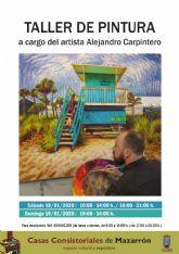 Alejandro Carpintero impartir� un taller de pintura gratuito en la