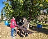 Nueva ampliación del parque canino en el parque Príncipe de Asturias