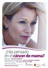 Programa de prevenci�n del C�ncer de Mama: del 4 al 21 de febrero de 2020