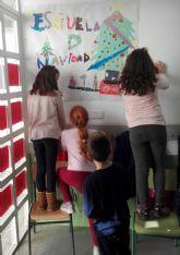 Cerca de medio centenar de menores asisten a la Escuela de Conciliación de Invierno en el colegio 'Joaquín Cantero'