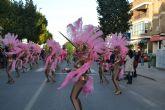 Las calles pinatarenses se contagian de la alegría de Don Carnal