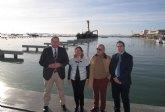 Los 150 nuevos puntos de atraque del puerto de Lo Pagán estarán disponibles en primavera