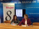 La Concejalía de Igualdad de Molina de Segura conmemora el 8 de Marzo con actividades de febrero a mayo de 2017