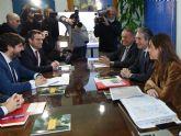 El Ministro de Fomento anuncia 838 metros de soterramiento en el municipio de Alcantarilla
