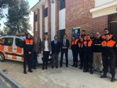 La Comunidad entrega un nuevo vehículo a la Agrupación de Protección Civil del Valle de Ricote