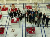 La excelencia de la artesanía regional se instala en el Patio de los Ayuntamientos de la Asamblea Regional de Murcia