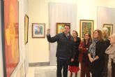 La exposición 'Espíritu creativo' recorre las diferentes etapas artísticas de José María Párraga