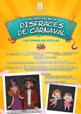 Más de 1.300 euros en premios para la primera edición del concurso online de disfraces de Carnaval