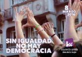 IU-Verdes de Cieza: 'Demos el paso para la Igualdad de Género'