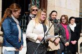 Empleadas municipales y vecinas de Mazarrón conmemoran el día internacional de la mujer trabajadora