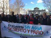 El PSOE de Cieza reitera su apoyo a los agricultores.