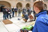 Alumnos de un instituto de Alhama sorprenden con su ingenio en la prueba de carduinos de la UPCT