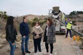 Comienzan las obras de acondicionamiento del camino 'Junto al Río – La Cola'