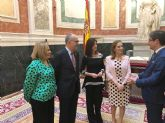 Perla Fuertes presenta el c�rtel del Entierro de la Sardina 2019 en el Congreso de los Diputados