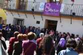 Lectura manifiesto de la Alcaldesa Archena por Día Internacional de la Mujer