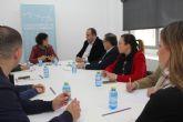 La alcaldesa se reúne con el presidente de la Cámara Oficial de Comercio
