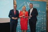 Marta Garrido, galardonada con la distinción 'DH Profesional' en los V Premios de Dirección Humana