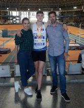 Oro y récord en Valencia