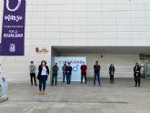 Lectura del Manifiesto del 8 de marzo, Día Internacional de las Mujeres en Torre Pacheco