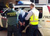 La Guardia Civil detiene a un peligroso delincuente por un apuñalamiento en Torre Pacheco