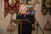 Alicia Jim�nez pronuncia el preg�n de Semana Santa de Puerto de Mazarr�n