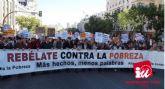 IU-Verdes: 'Hay que dotar de fondos las políticas de lucha contra la pobreza'