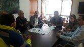 """El Alcalde se reúne con la Cooperativa Ambulancias de Lorca y destaca su """"ejemplar contribución a la creación de empleo de calidad en nuestra comarca durante 30 años"""""""
