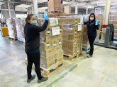 Marvimundo dona cerca de 3.000 unidades de gel higienizante a los principales hospitales de Murcia