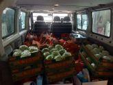 El Ayuntamiento de Puerto Lumbreras abastece de alimentos y productos básicos a más de 200 familias en situación de vulnerabilidad ante el Estado de Alarma