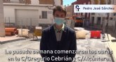 Se ejecutan durante estas semanas las obras de reposici�n de saneamiento y asfalto en C/ Alc�ntara y Gregorio Cebri�n