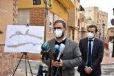 El Ayuntamiento de Lorca impulsa el procedimiento para la adjudicación de las obras de renovación urbana de la calle Abellaneda en el barrio de San Cristóbal
