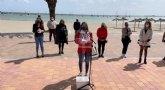Lectura del manifiesto del Día Internacional del Pueblo Gitano, en Santiago de la Ribera