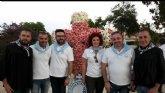 La delegación de Lourdes de Totana participó en la tradición de la Cruz en Muchamiel (Alicante)