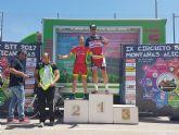 Francisco Cánovas, del CC Santa Eulalia, finaliza 3° m45 en la general final del circuito btt montañas alicantinas