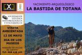 Organizan una visita ambientada al yacimiento de La Bastida el próximo sábado 12 de mayo