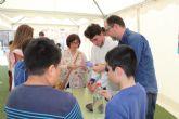 Alumnos del IES Rambla de Nogalte y CEIP Sagrado Corazón participan en el proyecto 'Monitores de la Ciencia'