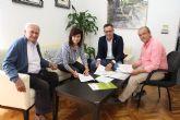 El Ayuntamiento y ACUDE firman un convenio para la conservaci�n de fincas municipales de inter�s ambiental