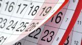 El 7 de enero y el 10 de diciembre ser�n las dos festividades locales para el pr�ximo año 2020 en el municipio de Totana