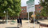 El Ayuntamiento moderniza los parques de Juan Carlos I y El Azarbe e instala nuevas zonas de juego